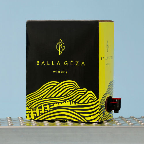 BALLA GEZA - Premium-Weißwein 5l Bag-in-Box